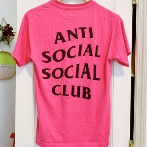 ANTISOCIAL SOCIAL CLUB ASSC Pink Tee